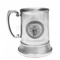 Game Of Thrones - Stark Stainless Steel Stein