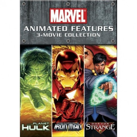 ANIMATED FEATURES- 3 MOVIE COLLECTION