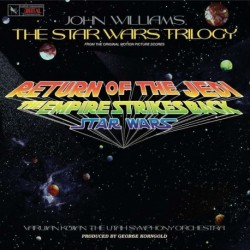 JOHN WILLIAMS - THE STAR WARS TRILOGY - SOUNDTRACK