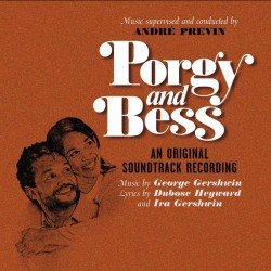 PORGY AND BESS - GEORGE GERSHWIN - AN ORIGINAL SOUNDTRACK RECORDING