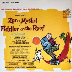ZERO MOSTEL - FIDDLER ON THE ROOF - SOUNDTRACK