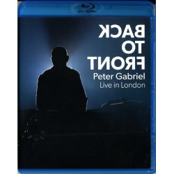 PETER GABRIEL - BACK TO FRONT - LIVE IN LONDON