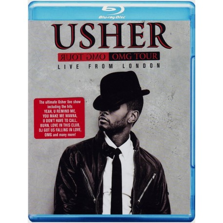 USHER - LIVE FROM LONDON OMG TOUR