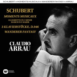 CLAUDIO ARRAU - SCHUBERT MOMENTS MUSICAUX