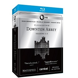 DOWNTON ABBEY - 1 - 5 SEASONS