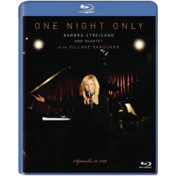 BARBRA STREISAND - ONE NIGHT ONLY - BARBRA STREISAND AND QUARLET AT THE VILLAGE VANGUARD