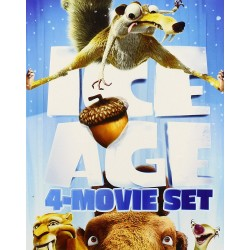 ICE AGE - 4 MOVIE SET