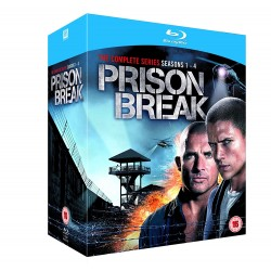 PRISON BREAK - 1-4 SEASONS - SERIE COMPLETA