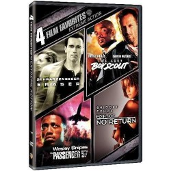EXTREME ACTION - 4 FILM FAVORITES: ERASER / THE LAST BOY SCOUT / PASSENGER 57 / POINT OF NO RETURN