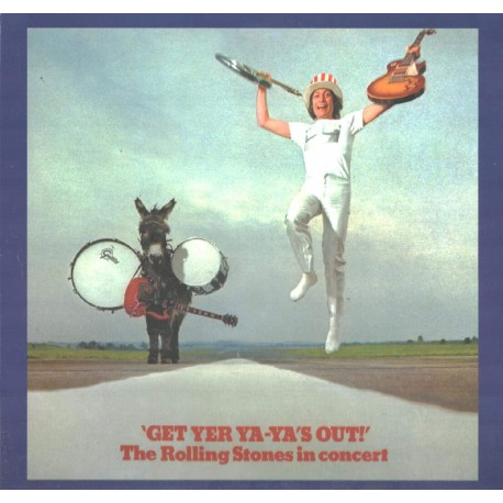 THE ROLLING STONES IN CONCERT - GET YER YA-YA`S OUT