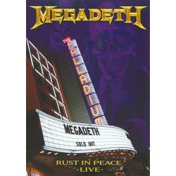 MEGADETH - RUST IN PEACE LIVE