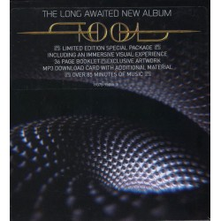 TOOL - FEAR INOCULUM - THE LONG AWAITED NEW ALBUM - LIMITED EDITION