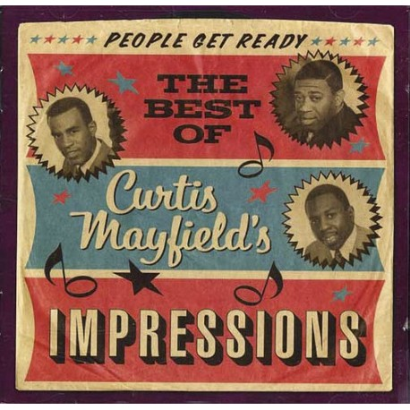 CURTIS MAYFIELDS - BEST OF IMPRESSIONS