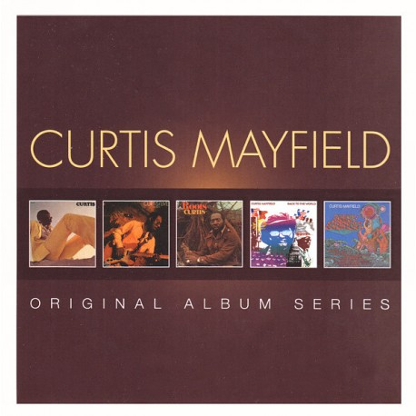 CURTIS MAYFIELD - THE ORIGINAL ALBUM SERIES
