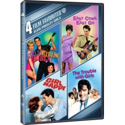 ELVIS PRESLEY GIRLS - 4 FILM FAVORITES: GIRLS GIRLS GIRLS / EASY COME EASY GO / GIRLS HAPPY / THE TROUBLE WITH GIRLS