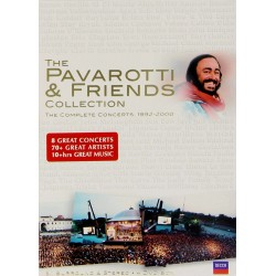 THE PAVAROTTI & FRIENDS COLLECTION - THE COMPLETE CONCERTS 1992-2000