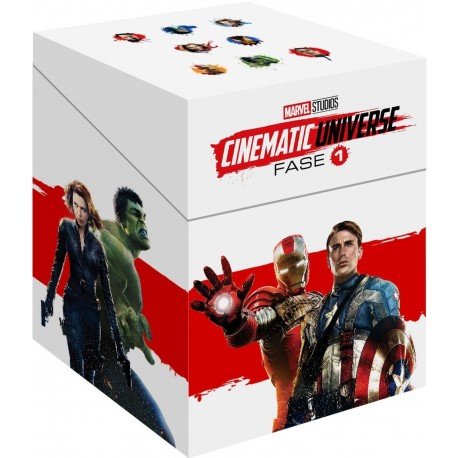 CINEMATIC UNIVERSE - 1 FASE / AVENGERS