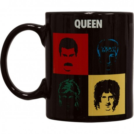 QUEEN - COFFE MUG BLACK