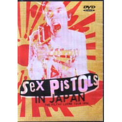 SEX PISTOLS - SEX PISTOLS THE FILTHY LUCRE TOUR 1996 - IN JAPAN