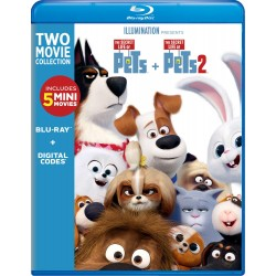 THE SECRET LIFE OF PETS 1 + 2