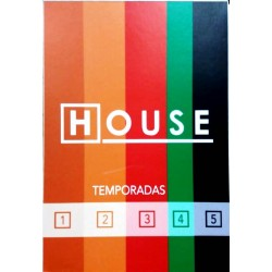 DR HOUSE - TEMPORADAS 1-5