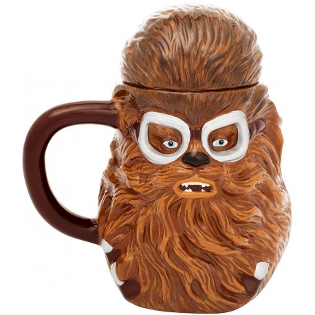 STAR WARS - CHEWBACCA SCULPTED - SCULPED MUG