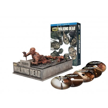 THE WALKING DEAD - 5 SEASON DELUXE COLLECTION