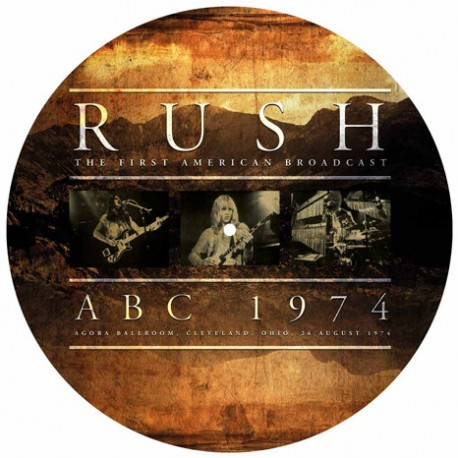 RUSH - THE FIRST AMERICAN BROADCAST ABC 1974