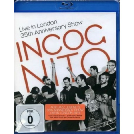 INCOGNITO - LIVE IN LONDON - 35th ANNIVERSARY