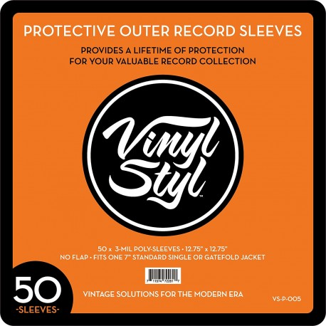 VINYL STYL - PROTECTIVE OUTER RECORD SLEEVES