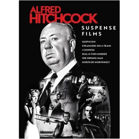 HITCHCOCK - SUSPENSE FILMS