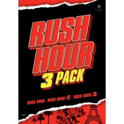 JACKIE CHAN - RUSH HOUR - 3 FILMS PACK