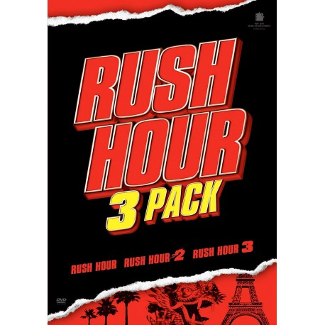 JACKIE CHAN RUSH HOUR - 3 FILMS PACK