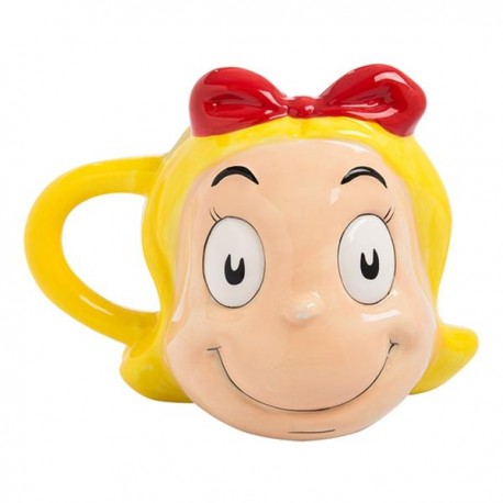 DR. SEUSS - CINDY LOU WHO - CERAMIC SCULPTED MUG