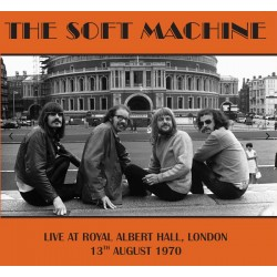 SOFT MACHINE - LIVE AT ROYAL ALBERT HALL IN LONDON 1970