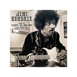 JIMI HENDRIX - LIVE AT CAFE AU GO GO NEW YORK CITY 1968