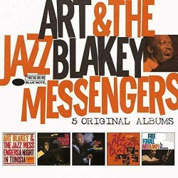 ART BLAKEY AND THE JAZZ MESSENGERS - 5 ORIGINAL ALBUMS