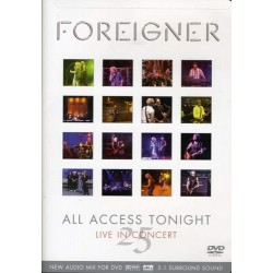 FOREIGNER - ALL ACCESS TONIGHT LIVE IN CONCERT 25