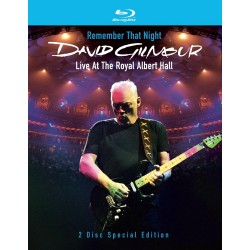 DAVID GILMOUR -REMEMBER THAT NIGHT - LIVE AT THE ROYAL ALBERT HALL
