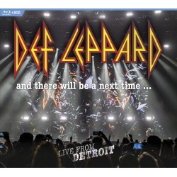 DEF LEPPARD - AND THERE WILL BE A NEXT TIME- LIVE FROM DETROIT