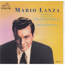 MARIO LANZA - SING SONGS FROM THE STUDENT PRINCE AND THE DESERT SONG