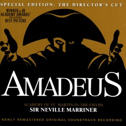 ACADEMY OF ST MARTIN IN THE FIELDS - SIR NEVILLE MARRINER - AMADEUS - SOUNDTRACK