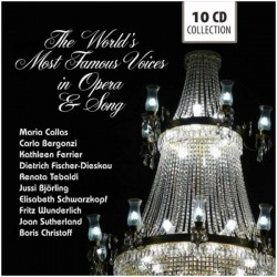 THE WORLDS MOST FAMOUS VOICE IN OPERA & SONG - VARIOS ARTISTAS