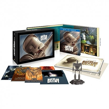 THE IRON GIANT - LIMITED EDITION BOX + DVD