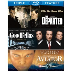 TRIPLE FEATURE SCORSESE - THE DEPARTED / GOODFELLAS / THE AVIATOR