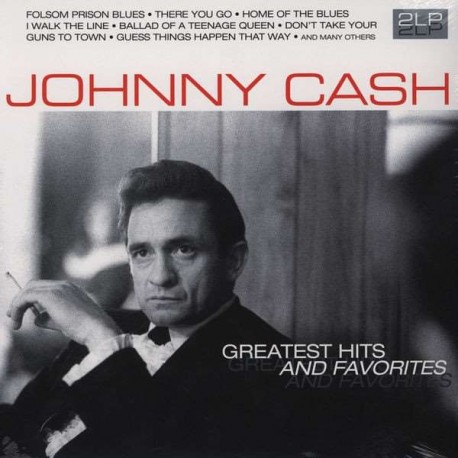 GREATEST HITS AND FAVORITES - JOHNNY CASH