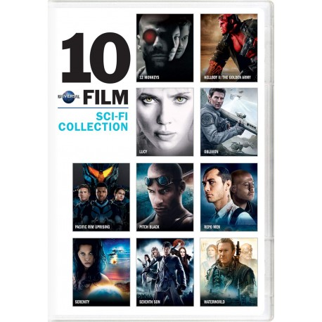 UNIVERSAL 10 FILMS SCI-FI COLLECTION
