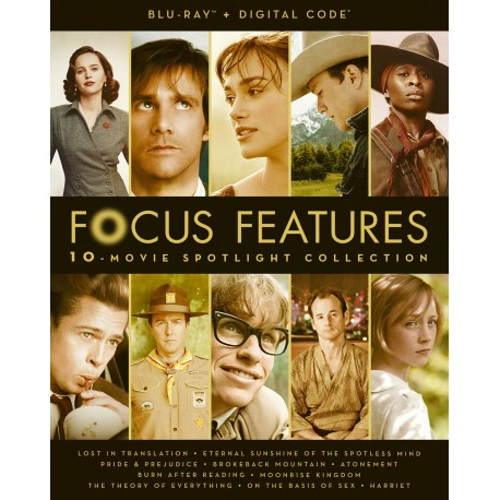 FOCUS FEATURES - 10 MOVIES SPOTLIGHT COLLECTION