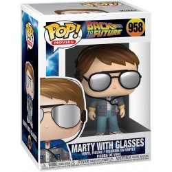 pop! 958 back to the future / marty with glasses