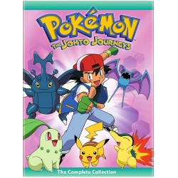 POKEMON - THE JOHTO JOURNEYS
